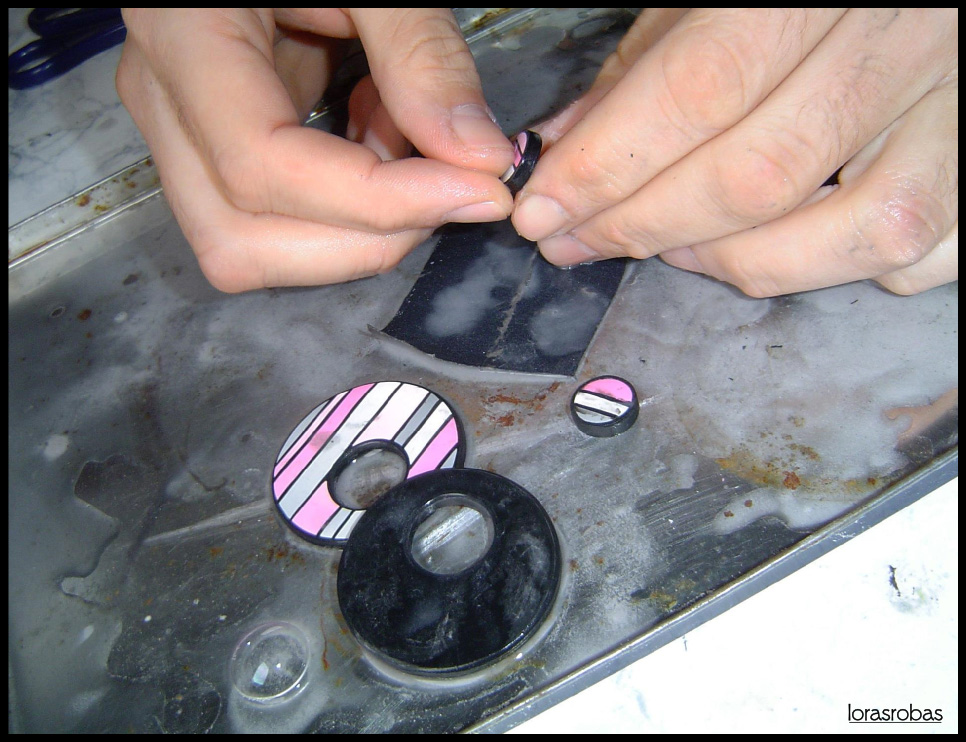 sanding earrings